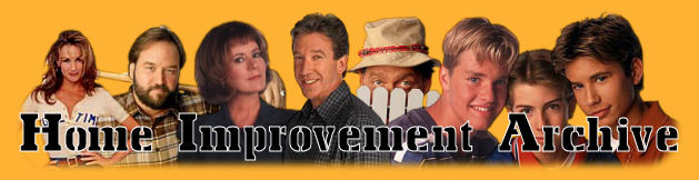 Images of the Cast of Home Improvement with the Home Improvement Archive title